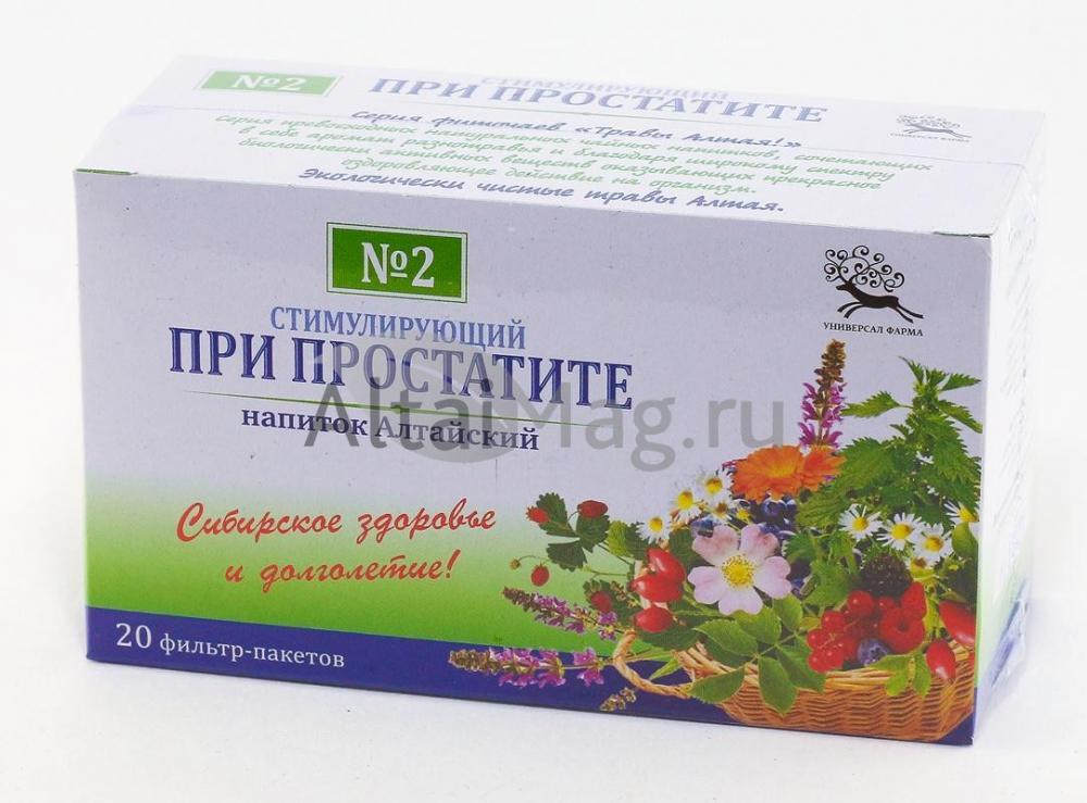 Чай как профилактика простатита какой антибиотик применяют при простатите